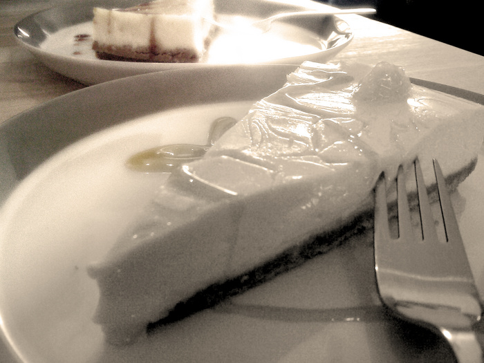 Must eat another cheesecake... even if my belly will explode